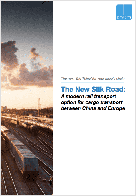 The new silk road: A modern rail transport option for cargo transport between China and Europe |White paper