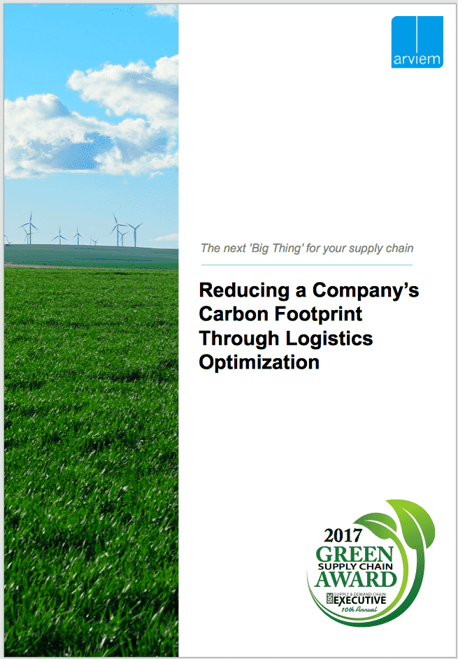 Carbon footprint monitoring in logistics