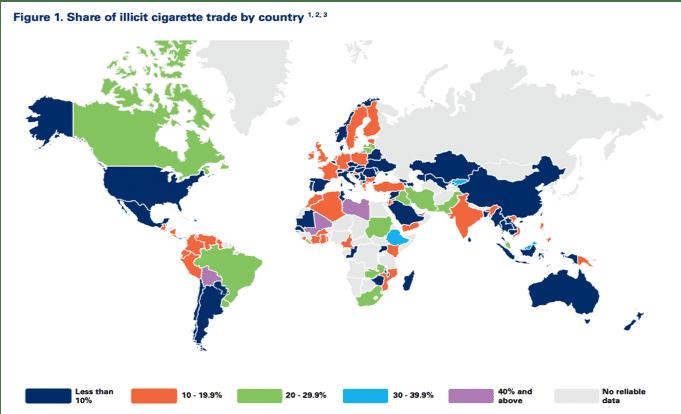 Illicit cigarette Trade