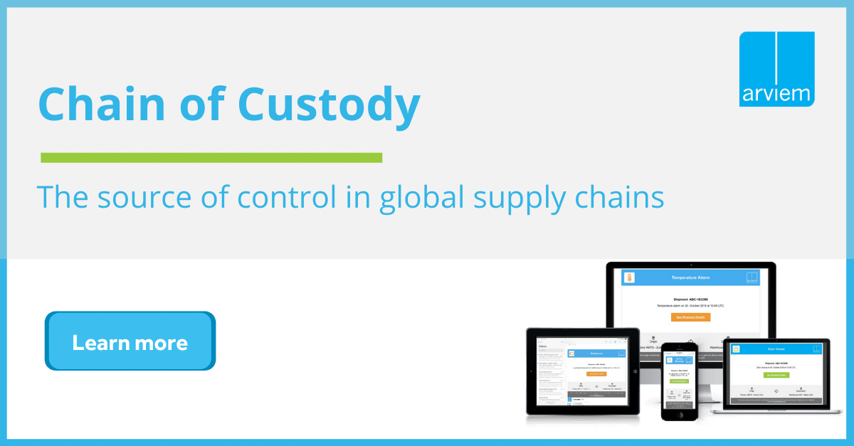 Chain of Custody - Arviem