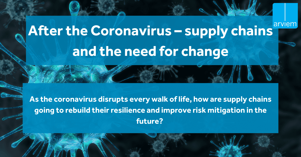 Coronavirus supply chain