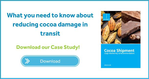 Cocoa damage control in transit