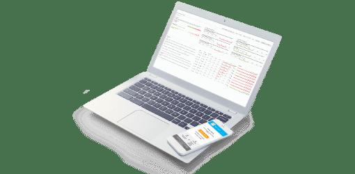 Data analytics and notifications dashdoard