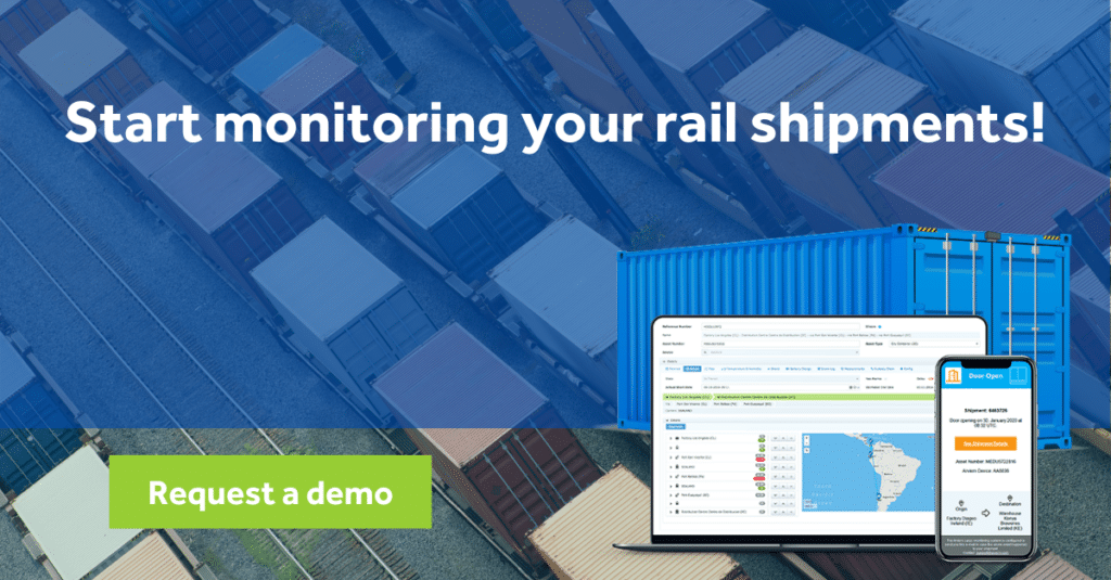 Rail freight monitoring demo