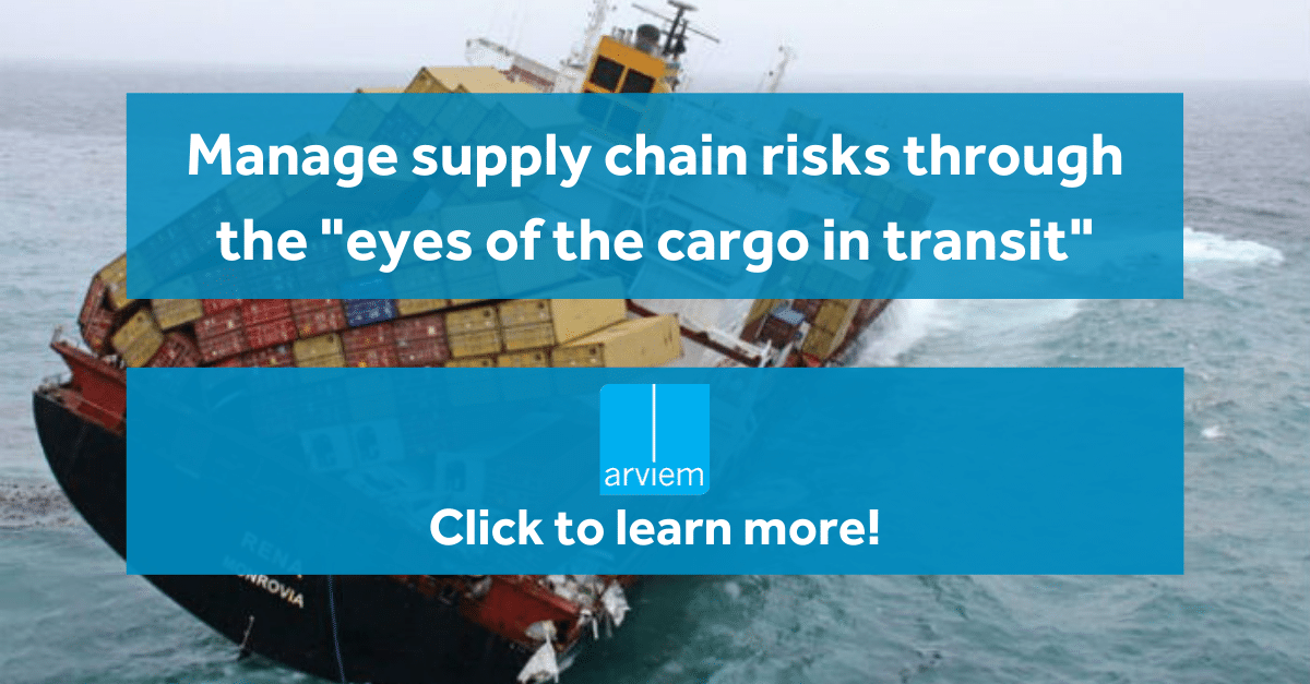 Supply chain risk from cargo perspective
