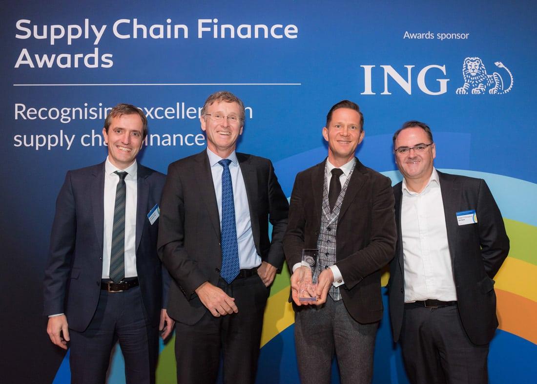 Arviem the winner of the Swiss Working Capital Managemnt Award